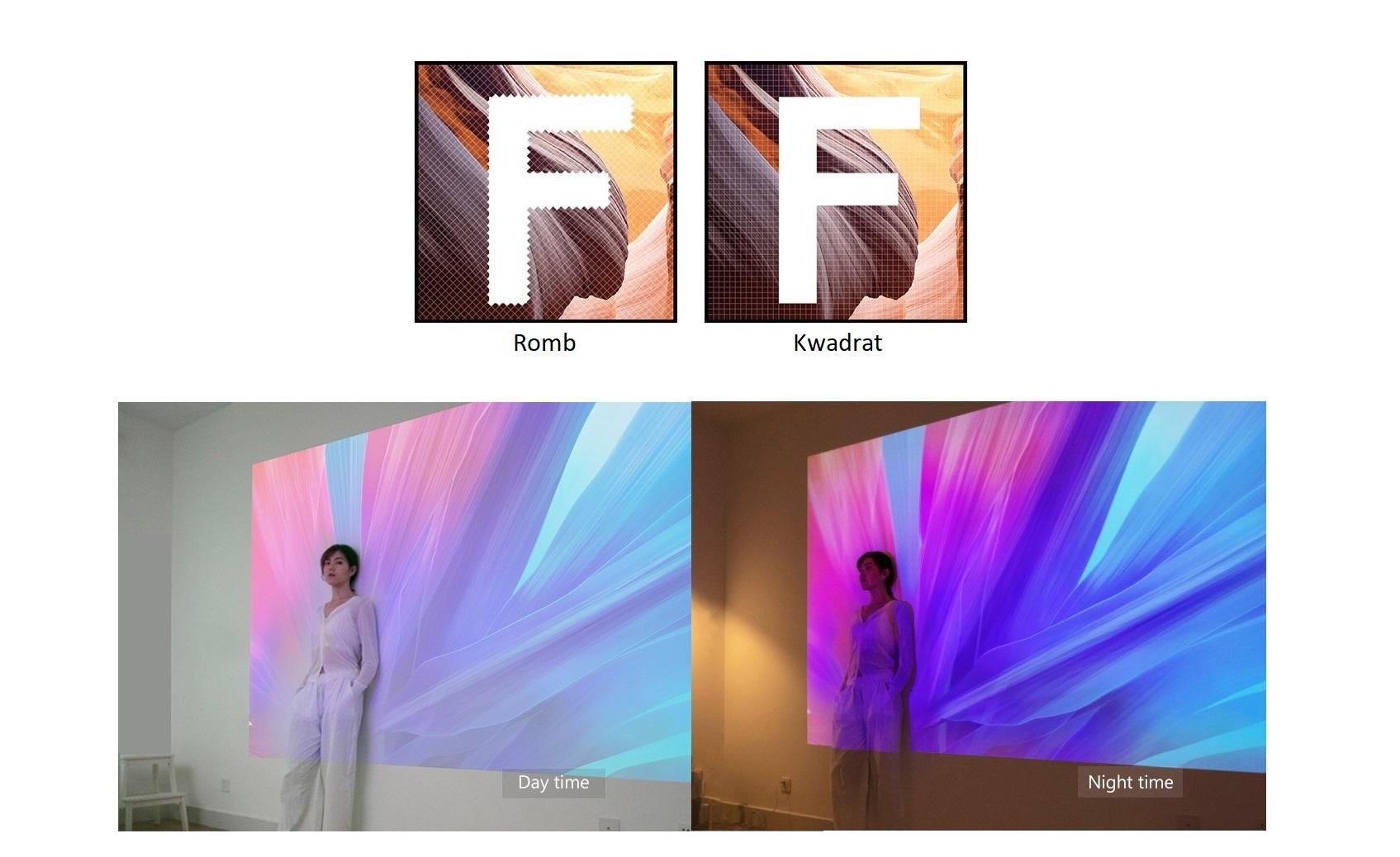 XGIMI Z6 Square Pixel